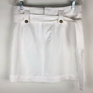 Banana Republic Linen Skirt with Belt
